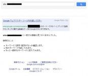 site:検索でインデックス削除されたサイト